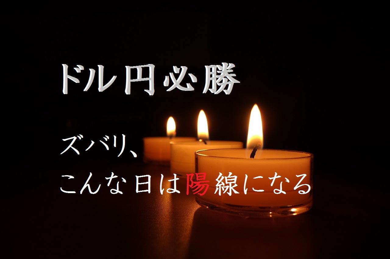 日足 ドル円 必勝法